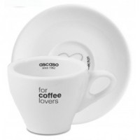 Ascaso Cappuccino Cups & Saucers