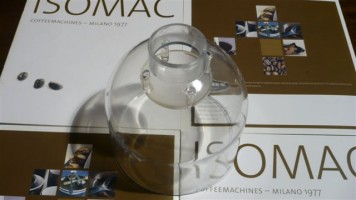 Bean Hopper -Small- With Finger Guard included Isomac