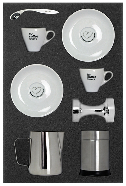 Ascaso Barista Pack (Top Bar) With FREE Coffee