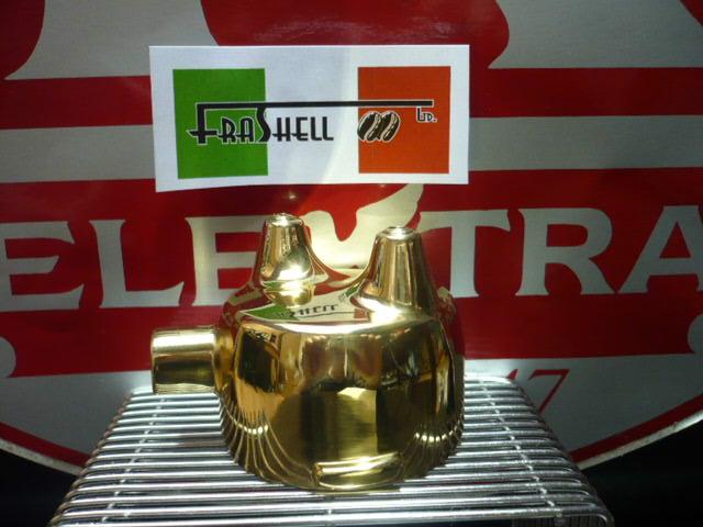 Portafilter-Polished Brass Elektra