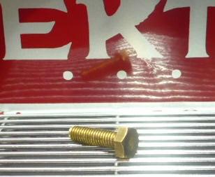 Screw/ bolt M6x20 Brass for brass eagle Elektra