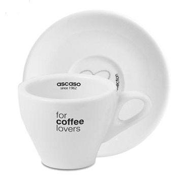 Ascaso Espresso Cups&Saucers With FREE Espresso Spoons!