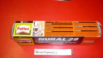 Gasket Nural 28  Quality paste 75ml Isomac