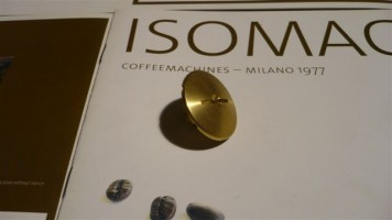 e-61  Spayer- polished brass- for  Group  Isomac