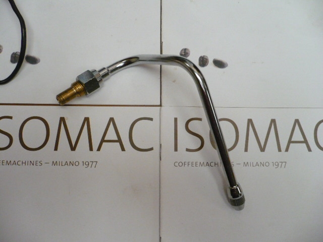 Steam wand - chrome Isomac